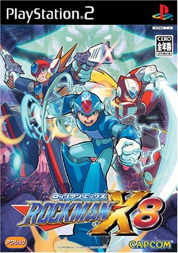 RockMan X8 (jap.), seltenes PS2-Spiel der Mega Man Reihe für Sony PS2