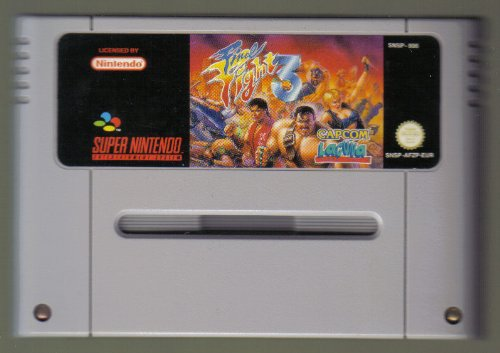 Final Fight 3, rares Super Nintendo Spiel