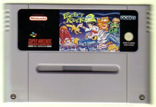 Pocky & Rocky 2, seltenes Nintendo Videospiel