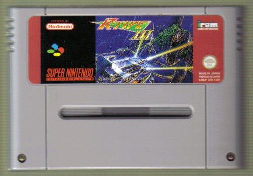 R-Type 3 – Third Lightning für Nintendo SNES, sehr selten