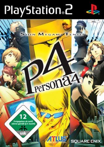 Shin Megami Tensei - Persona 4 (PAL), toleses Gesellschaftsspiel und sehr selten für Sony PS2