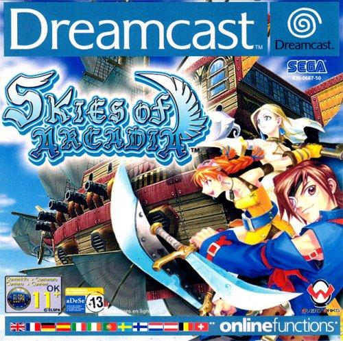 Skies of Arcadia für die Dreamcast