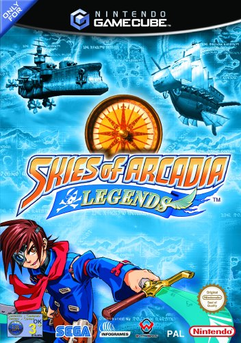 Skies of Arcadia Legends, seltenes Nintendo Gamecube Videospiel