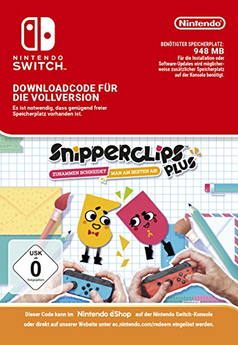 Snipperclips: Cut it out together Plus Pack (DLC) | Switch - Download Code