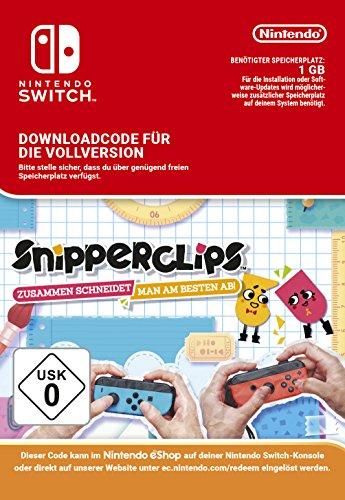 Snipperclips - Zusammen schneidet man am besten ab - Download Code, Switch