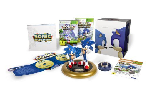 Sonic Generations – Sammleredition, rare Sammleredition für die XBox 360