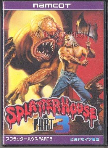 Splatterhouse 3, seltenes Genesis Spiel