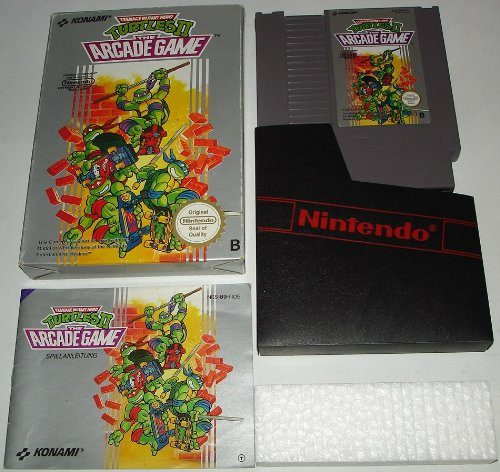 Teenage Mutant Hero Turtles II: The Arcade Game, Goldstück in der NES Sammlung