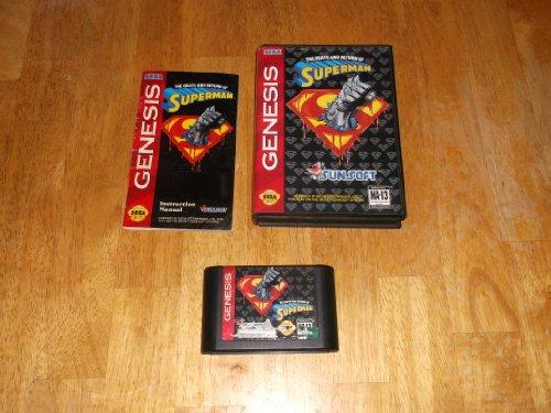 The Death and Return of Superman, sehr wertvoll Sega Mega Drive