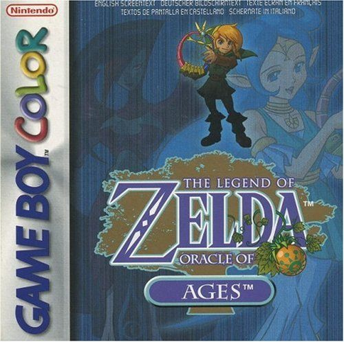 The Legend of Zelda: Oracle of Ages, seltenes Game Boy Color RPG