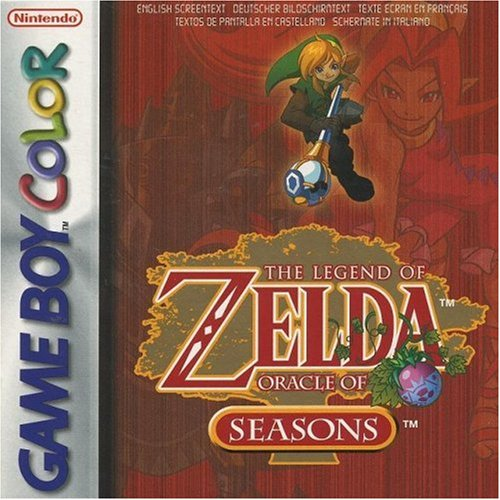 The Legend of Zelda - Oracle of Seasons, sehr selten für den Game Boy