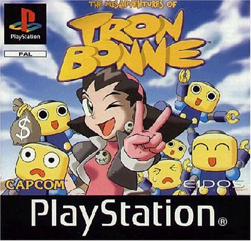 The Misadventures of Tron Bonne, Sammlerexot für PS1
