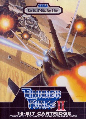 Thunderforce 2, seltener Shooter für den Sega Genesis