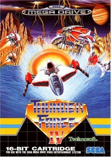Thunderforce 4 (PAL), extrem seltenes PAL-Spiel für den Sega Mega Drive