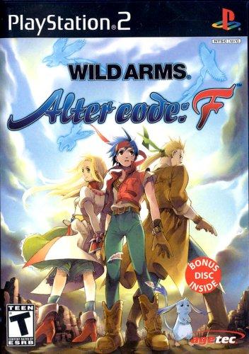 Wild Arms. – Alter code: F, seltenes Rollenspiel für PS2