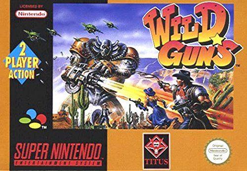 Wild Guns, rares SNES-Spiel