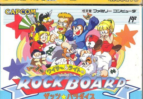 Willy and Light no Rock board thats paradise, rares NES-Spiel
