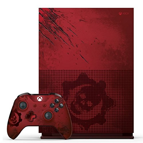 Xbox One S 2TB Console – Gears of War 4 Limited Edition Bundle, rare Edition der XBox One Konsole