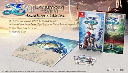 Ys VIII: Lacrimosa of Dana - Nintendo Switch (Pegi Version)