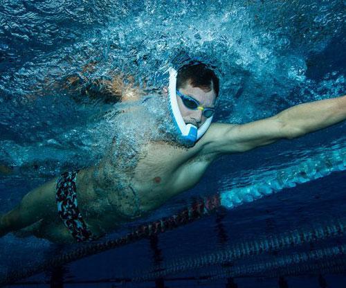 AMEO Powerbreather Sport Schnorchel/ keine Pendelatming und immer frische Luft