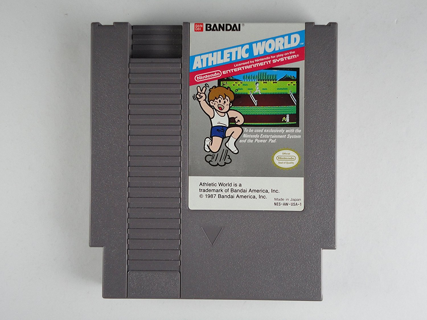 Athletic World, seltenes NES Spiel
