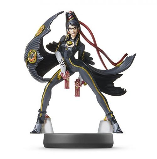 Bayonetta amiibo Figur Player 2 Super Smash Bros. selten