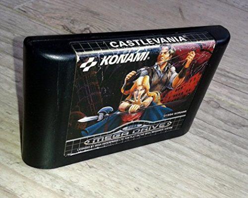 seltenes Castlevania - Spiel für den Mega Drive