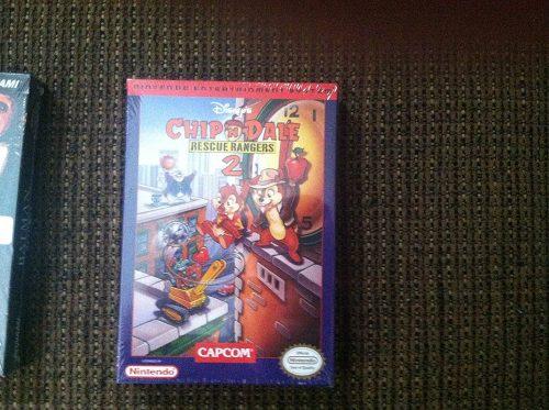 Chip & Dale: Rescue Rangers 2 NES, sehr selten