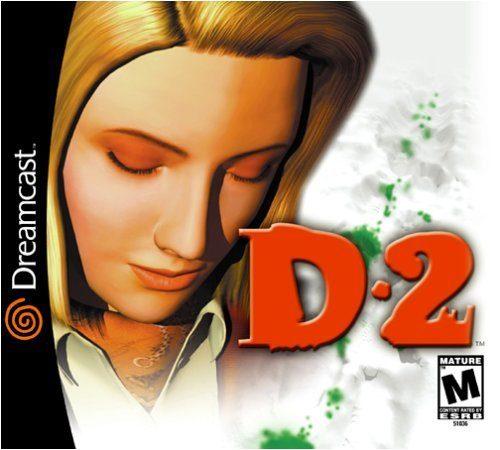 D2- seltenes Dreamcast Spiel