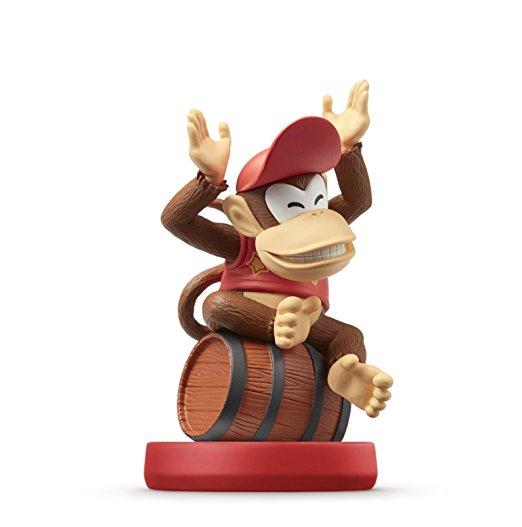 amiibo Diddy Kong - Super Mario Collection