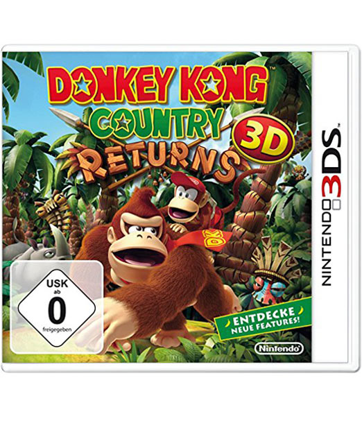 Donkey Kong Country Returns 3D für das Nintendo 3DS, Monster Games, USA, Nintendo