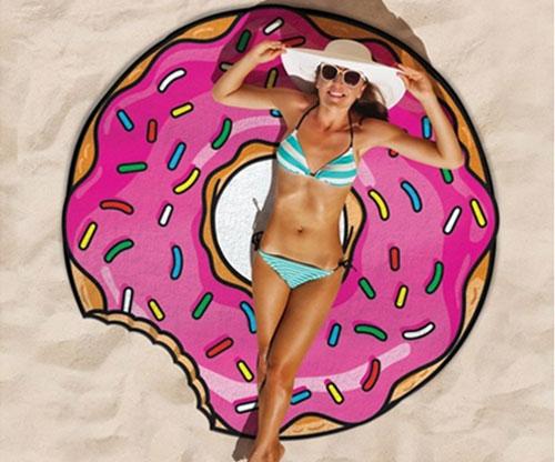 150cm Donut Strandtücher Frottiertücher Strandtuch / beach towel