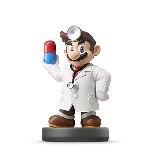 Dr. Mario Nintendo amiibo