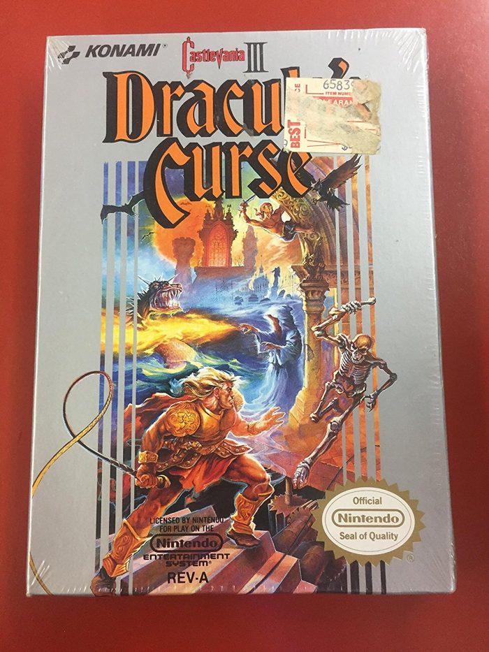 Castlevania III: Dracula's Curse, NES sehr wertvoll