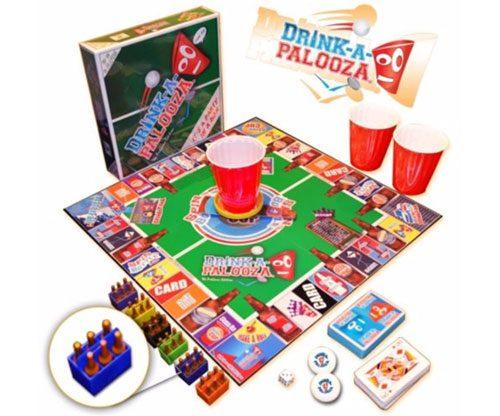 Trinkspiel - Bier/Alkohol - Party: Drink-a-Palooza Brettspiel