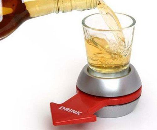 Trinkspiel - Alkohol - Spin the Shot