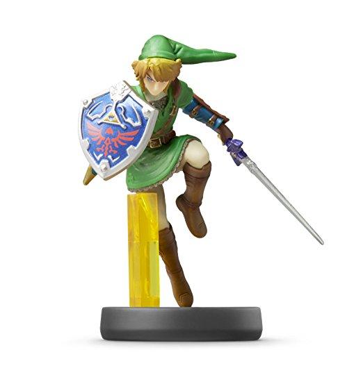 Link Super Smash Bros. Zelda amiibo Figur