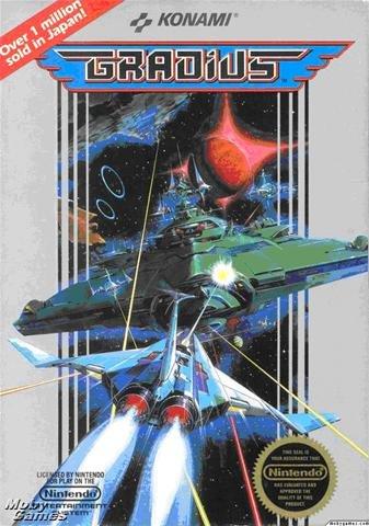 Gradius NES, rares Spiel für NES