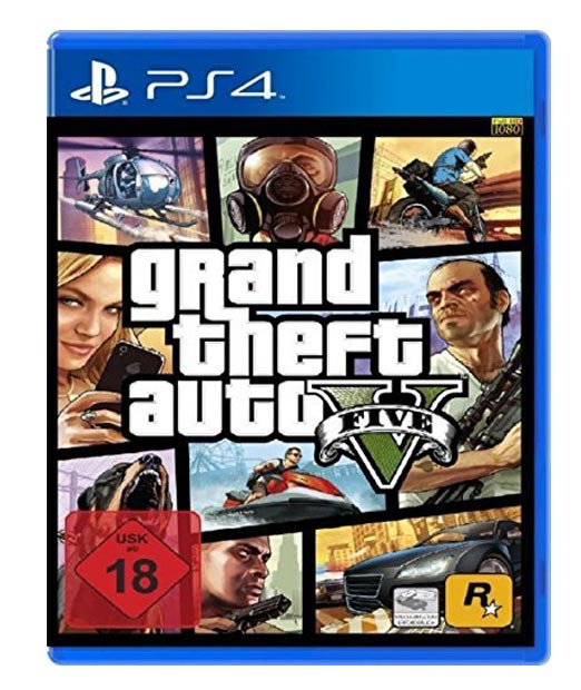 Grand Theft Auto 5 für die Playstation 4, Rockstar North, Schottland