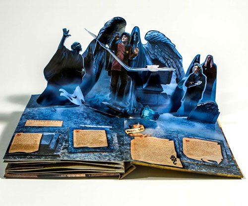 Harry Potter: Das magische Pop-up-Buch / Zauberwelt Kunstwerk