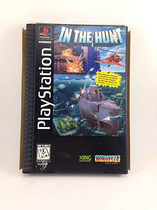 In the Hunt, sehr selten PS1