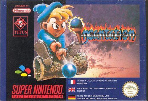Incantation - Super Nintendo, sehr wertvoll