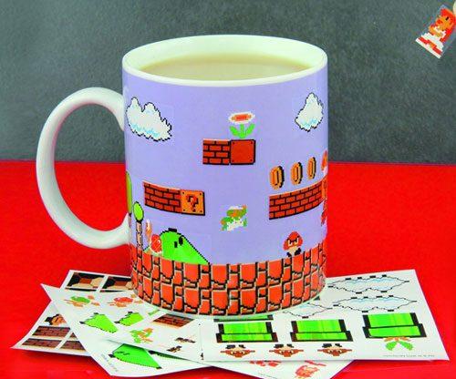Super Mario Bros. Retro / 8-Bit-Becher zum selbst gestalten