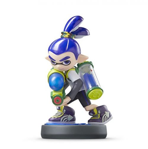 Inkling-Junge amiibo in der Farbe blau