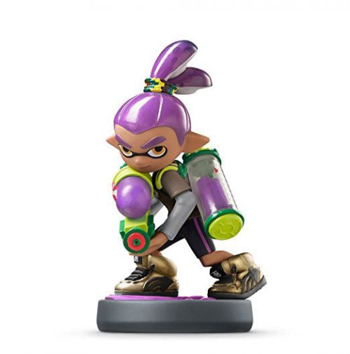 Nintendo amiibo Inkling-Junge in der Farbe lila