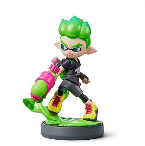 Nintendo amiibo Inkling Junge (neongrün)