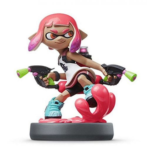 Inkling Mädchen (Neon-Pink) - Nintendo amiibo