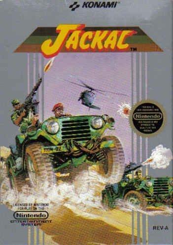 Jackal, sehr selten für NES