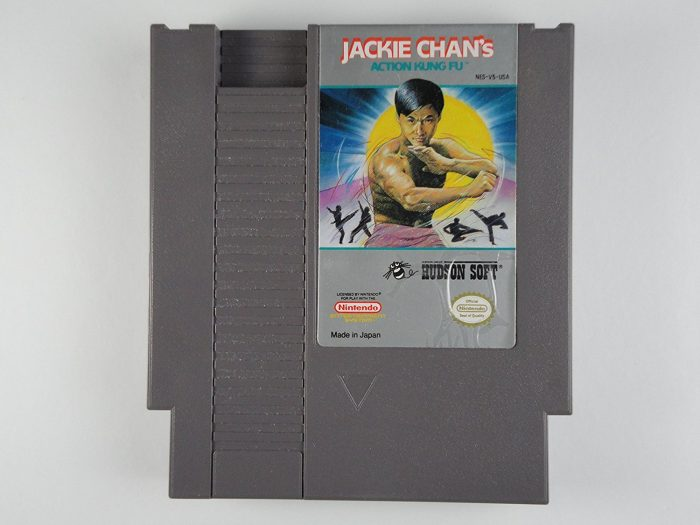 Jackie Chan's Action Kung Fu, seltenes NES-Spiel