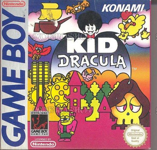 Kid Dracula (Game Boy), sehr selten